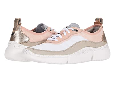Rockport R-Evolution Trainer (Pink/Taupe/White) Women