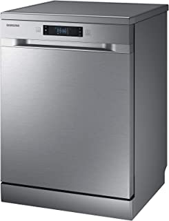 Samsung 6 programmes 13 place settings Free standing Dishwasher, Silver - DW60M6040FS, 1 Year Manufacturer Warranty