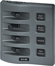 BLUE SEA SYSTEMS Blue Sea 4305 WeatherDeck® 12V DC Waterproof Switch Panel - 4 Posistion / 4305 /