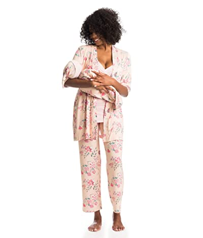 Everly Grey Analise Maternity/Nursing Mommy Me Five-Piece PJ Set (Wild Flower) Women