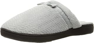 Women's Chevron Slip on Clog Slippers with Moisture Wicking for Indoor/Outdoor Comfort and Arch Support