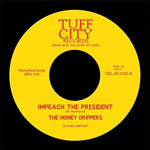 Impeach the President by The Honeydrippers on Amazon Music