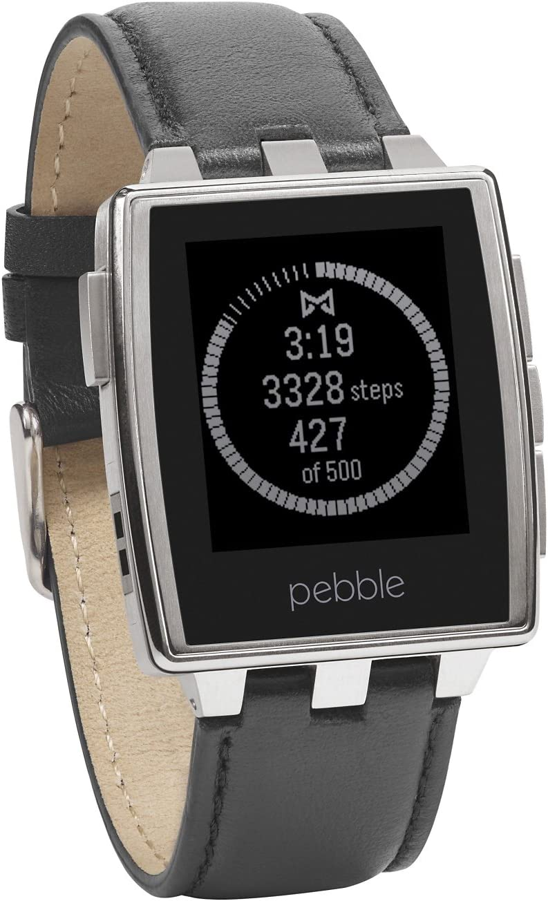 Ranking TOP10 Pebble Steel Stainless Smartwatch San Francisco Mall