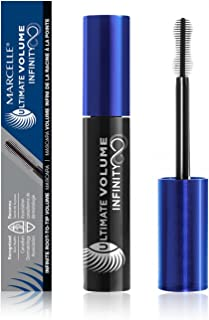 Marcelle Ultimate Volume Infinity Mascara, Blackest Black, Hypoallergenic and Fragrance-Free, 10ml
