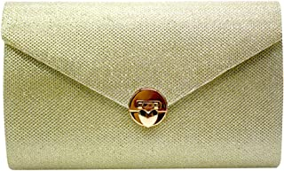 Wiwsi New Envelope Bags Heart Shaped Lock Handbag Women Bags Evening Clutch Bags