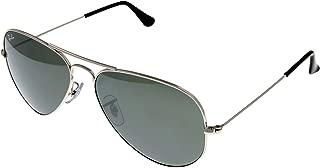 Ray Ban Sunglasses Aviator Palladium Mirrored Unisex RB3025 W3277 58