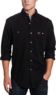 Men's Logger Twill Long Sleeve Work Shirt