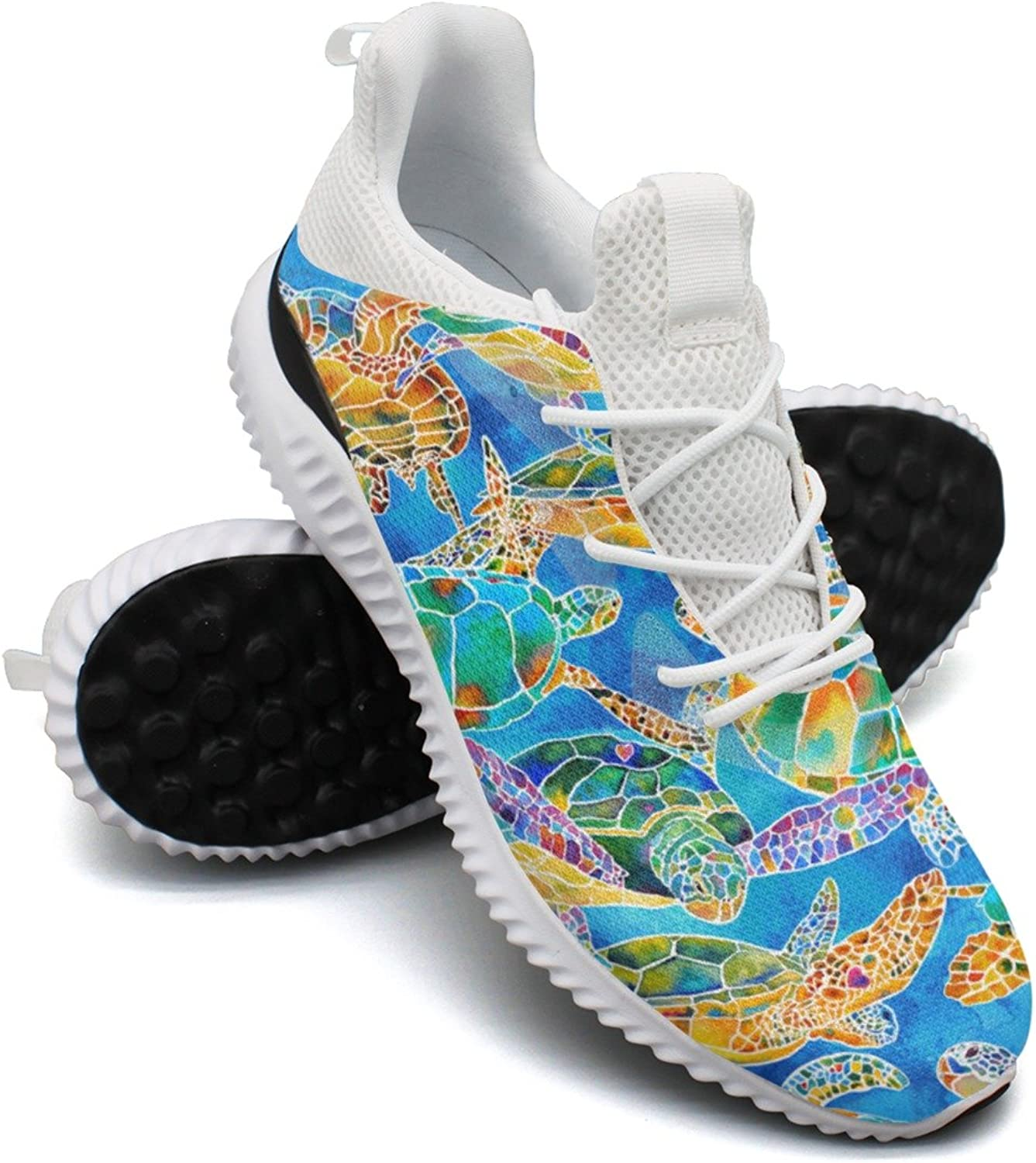 colorful Painting Turtles Leisure Casual Running shoes Woman Cool Hunting Mini