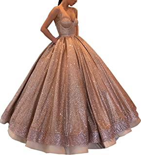 Best rose gold quinceanera dresses Reviews