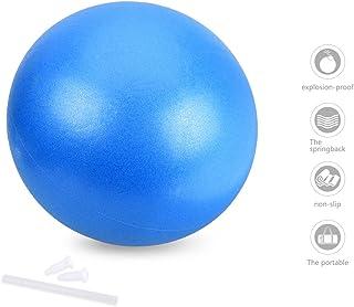 comprar comparacion OZUAR Mini Pelota de Ejercicio de 25cm, Profesional Bola de Entrenamiento Antiexplosión y Antideslizante para Gimnasio, Yo...