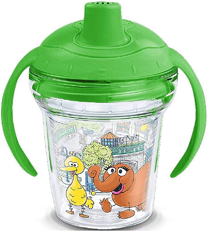 Tervis Sesame Street Snuffleupagus Wrap 6 Oz My First Tervis Sippy Cup