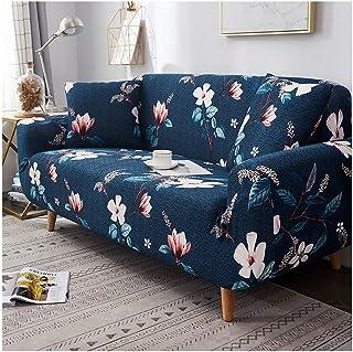 Lionel Philip Funda de sofá Estampada Floral Spandex para Sala de Estar Decoración del hogar Protector de Muebles Estirami...
