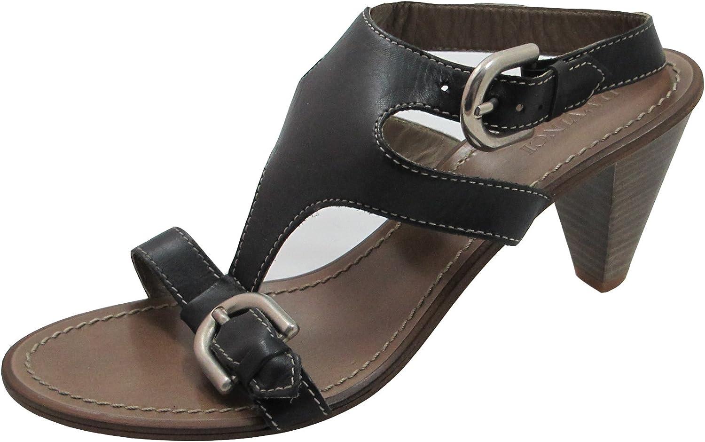 DA'VINCI Italian Designer 3003 Strappy Sandal Low Heel