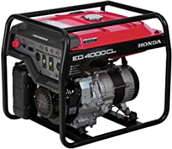 Honda Power Equipment EG4000CLAT 4,000W Portable Generator with DAVR Technology CARB, Steel