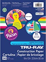 Tru-Ray P6586 Construction Paper Smart-Stack, 9