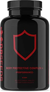 Dr. Seeds Body Protection Complex+ | Surgery, Post-Op, or Workout Injury Recovery Peptide | Advanced Tissue and Ligament Repair, with Reduced Inflammation | Collagen Support | 60 Tablets
