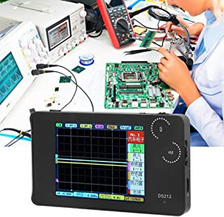 【Christmas Revels】 1MHZ Oscilloscope, Handheld Dual Channel Digital Storage Mini Oscilloscope, v2.8in 320x240 Color TFT Di...