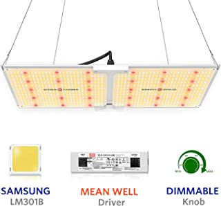 SPIDER FARMER SF-2000 LED Grow Light 2x4 ft Flower Compatible with Samsung LM301B Diodes & MeanWell Driver Dimmable Grow L...