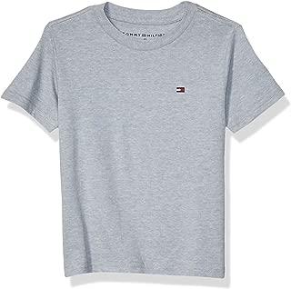 Boys' Short Sleeve Solid Crew-Neck T-Shirt