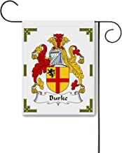 Carpe Diem Designs Burke Coat of Arms/Burke Family Crest 11 X 15 Garden Flag – Made in the U.S.A.