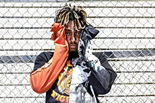 Posters Royale Juice Wrld Rapper Singer Songwriter Musician 12 x 18 Inch Quoted Multicolour Rolled Unframed Poster JU23