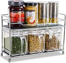 Shelf for Walls Kitchen Shelf 2 Floors Floor Seasoning Spice Rack Storage for Kitchen