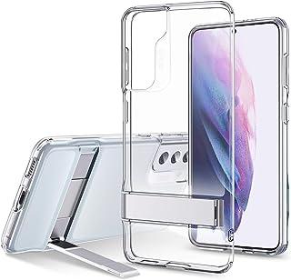 ESR Metal Kickstand Case Compatible with Samsung Galaxy S21 Plus (6.7-Inch) (2021) [Reinforced Drop Protection] [Portrait ...