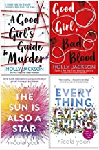 A Good Girl's Guide to Murder, Good Girl Bad Blood, The Sun is also a Star, Everything, Everything 4 Books Collection Set ...