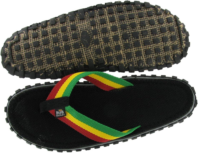 Bob Marley Fresco Mans Flip Flops Sandaler Sandaler Sandaler Rasta Skriv ut storlek 11  stor rabatt