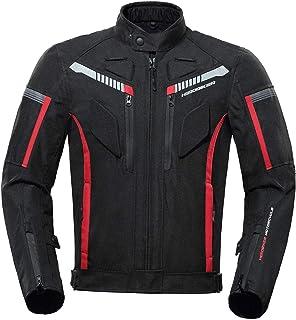 Jaqueta masculina de motociclista Homyl Armored, impermeável, para todos os climas, equipamento de proteção, 600D, para mo...
