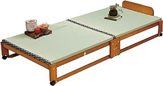 ファミリー・ライフ 中居木工製折りたたみ式畳ベット(61136)シングル