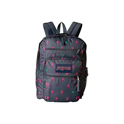 JanSport Big Student (Dark Slate Seahorse) Backpack Bags