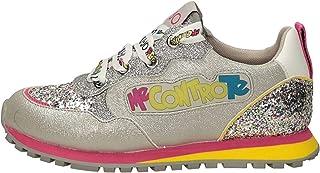Scarpe Bambino Liu-Jo Sneaker Me Contro Te Wonder 10 con luci LED Fuxia/torquoise ZS21LJ02