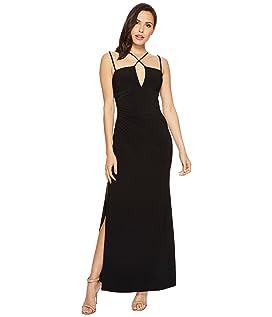 Jersey Crisscross Front Gown