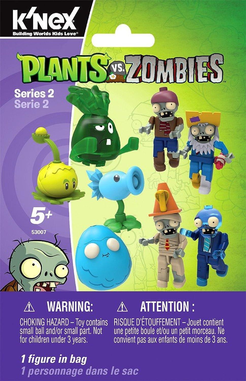 Bundle - K'nex Anlagen gegen Zombie-blinde Taschen Series 2 - x10  10 Taschen Ausgewhlte At Random  (Versand aus UK)