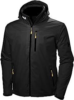 Helly Hansen Men's Crew Hooded Waterproof Windproof Breathable Rain Coat Jacket