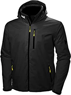 Helly Hansen Crew Hooded Waterproof Windproof Breathable Rain Coat Jacket