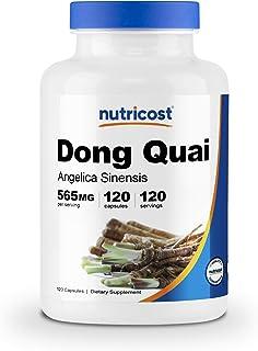 Nutricost Dong Quai 565mg, 120 Capsules - Gluten Free, Non-GMO, Veggie Capsules - Angelica Sinensis