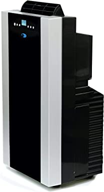 Whynter ARC-14S 14,000 BTU Dual Hose Portable Air Conditioner, Dehumidifier, Fan with Activated Carbon Filter plus Storage ba