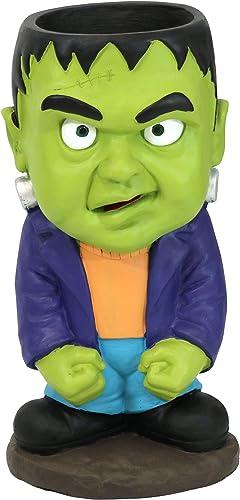 popular Sunnydaze Frankenstein Halloween online sale Large sale Statue with Built-In Candy Bowl Dish, 27-Inch Tall online sale