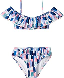 Brush Strokes Two-Piece (Toddler/Little Kids)