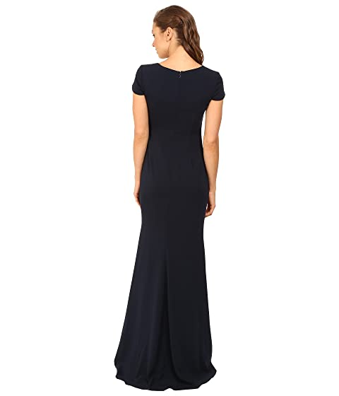 Gown Cap Mischka Odessa Sleeve Badgley Wqx8FIS