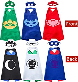 Costumes Capes and Masks for Kids - Compatible Superhero Halloween Costumes Best Kids Gifts