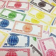 SEDOPLK Fun Board Game Play Money Replacement Set for Kids - $720.3 Million, Pretend Dollar Bills, 735 Bills Total, 105 of Each Denomination, As School Home Art Entertaining Projects