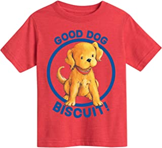 Instant Message Biscuit The Little Yellow Puppy Good Dog – Youth Short Sleeve Tee