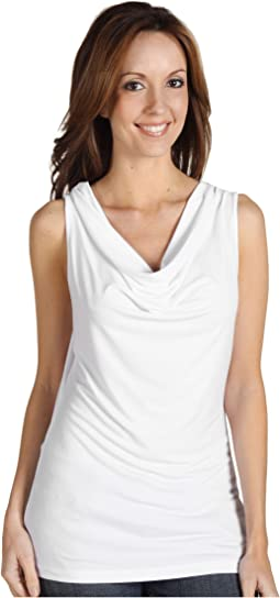 Calvin Klein - Cowl Neck Sleeveless Top