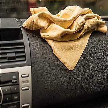 Flunkey coche Paño Gamuza Pva Cuero Sintético grande Uso Profesional