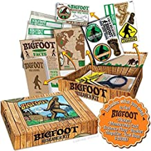 """Archie McPhee Accoutrements Bigfoot Sasquatch Outdoor Research Kit Novelty Gift, Multicolored, 7"""" x 5"""" x 1-1/2"""""""