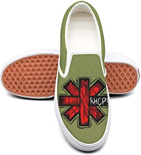 Men's Canvas Shoes for mens RHCP-Red-Hot-Chili-Peppers-cool-logo- Shoe
