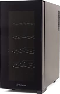 Westinghouse WWT100MB Thermal Electric 10 Bottle Wine Cellar, Black